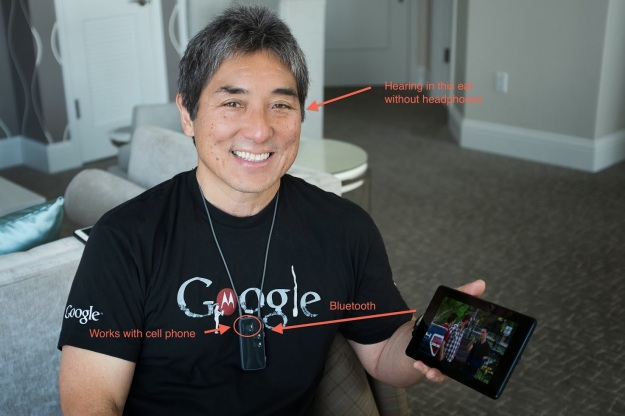 Guy Kawasaki, his Ponto Plus and Ponto Plus Streamer